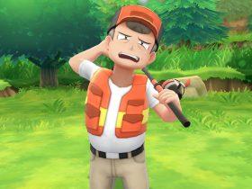 Pokémon Let's Go Fishing Rod Screenshot