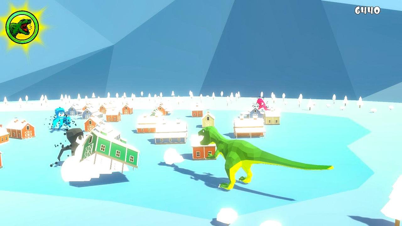 Roarr! The Adventures Of Rampage Rex Screenshot