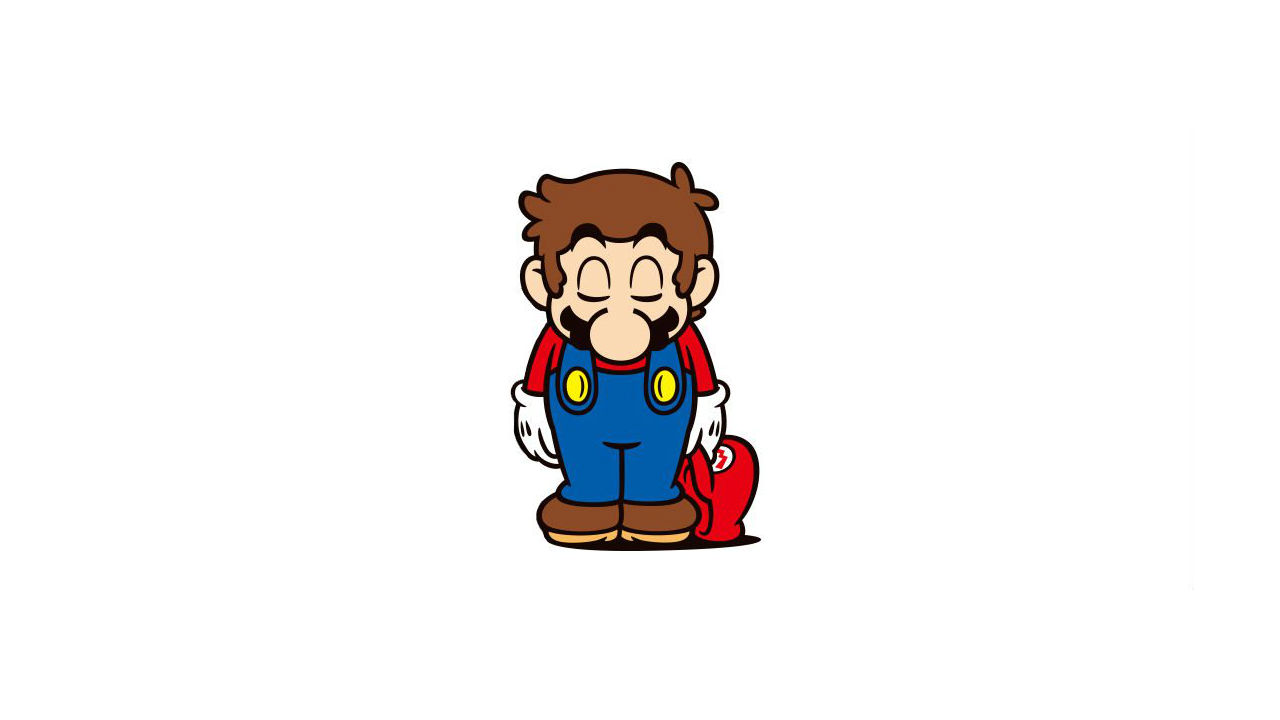 Super Mario Bowing Artwork