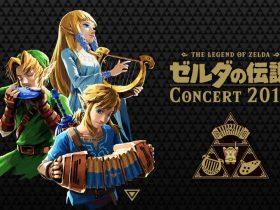 The Legend Of Zelda Concert 2018 Key Art