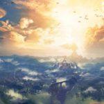 Zelda: Breath Of The Wild Landscape Artwork