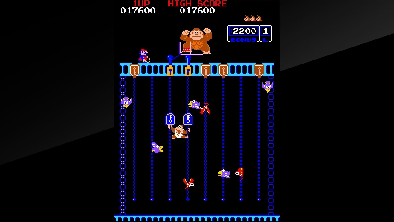 Arcade Archives Donkey Kong Jr. Screenshot 1