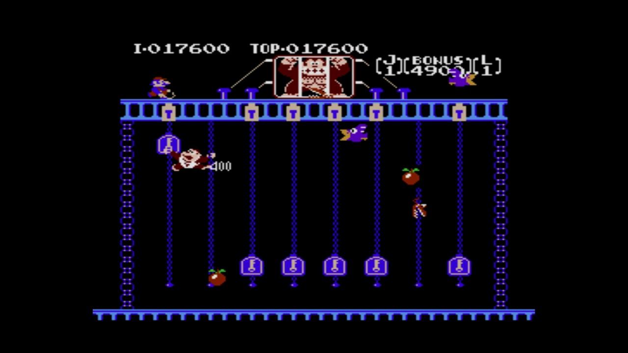 Arcade Archives Donkey Kong Jr. Screenshot