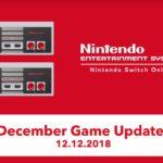 Nintendo Switch Online Update December 2018 Screenshot