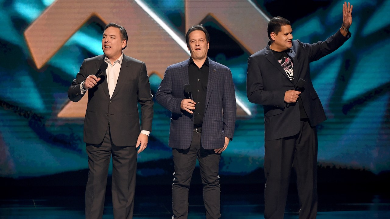 Reggie Fils-Aime The Game Awards 2018 Photo