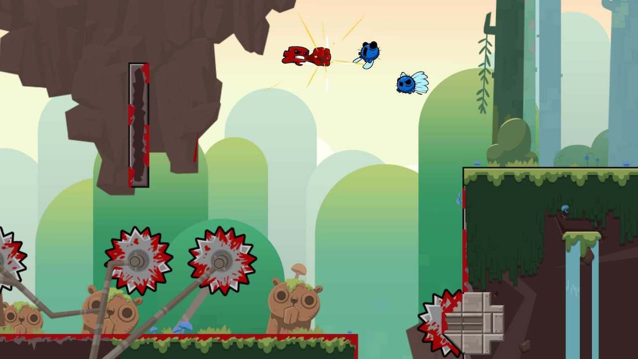 Super Meat Boy Forever Screenshot