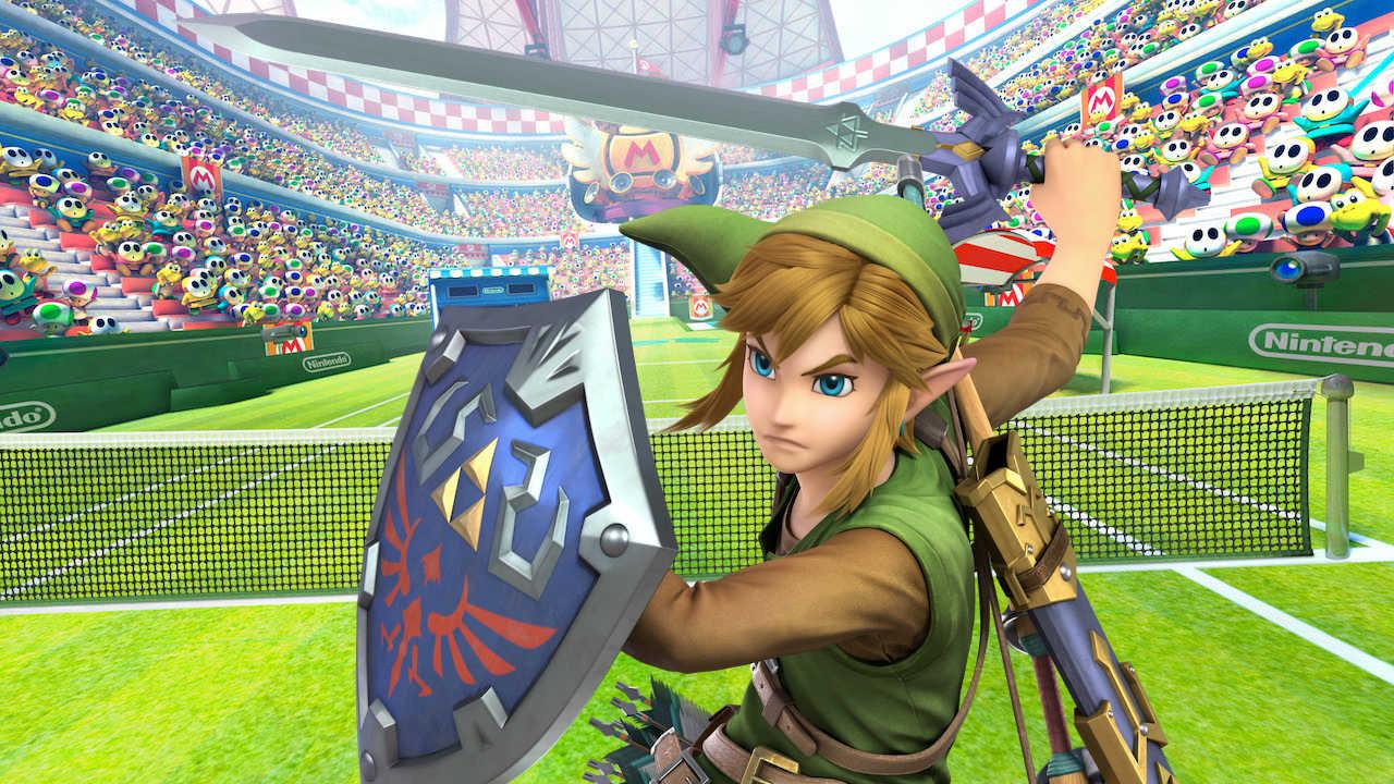 Link Mario Tennis Aces Image