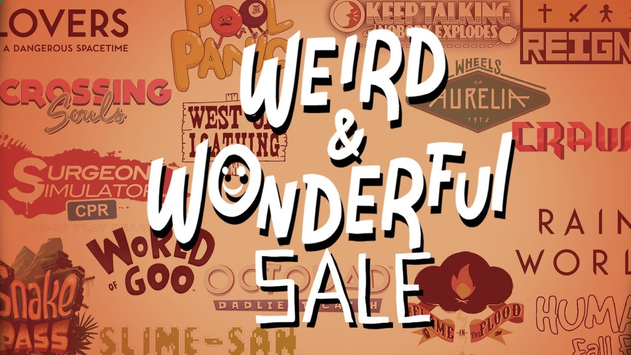 Nintendo eShop Weird And Wonderful Sale Image
