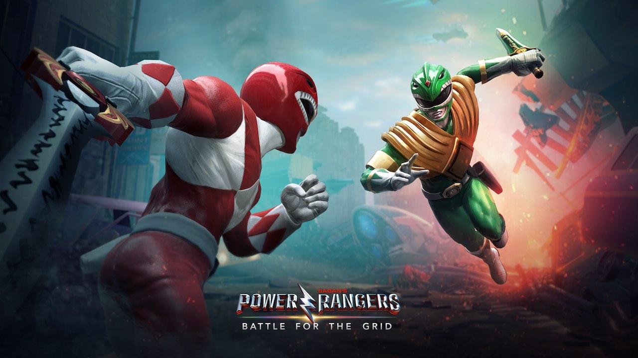 Power Rangers: Battle For The Grid Key Art