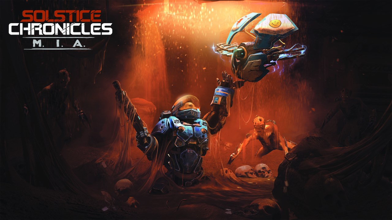 Solstice Chronicles: MIA Key Art
