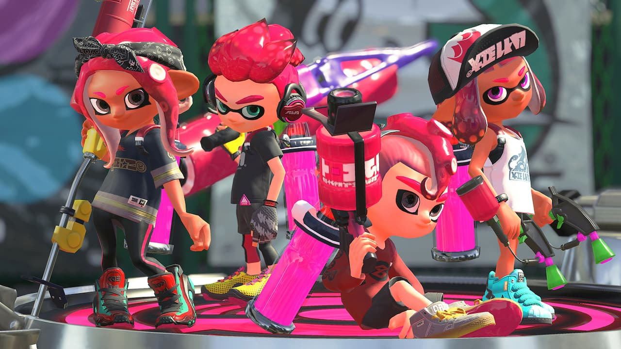 Splatoon 2 Octolings Screenshot