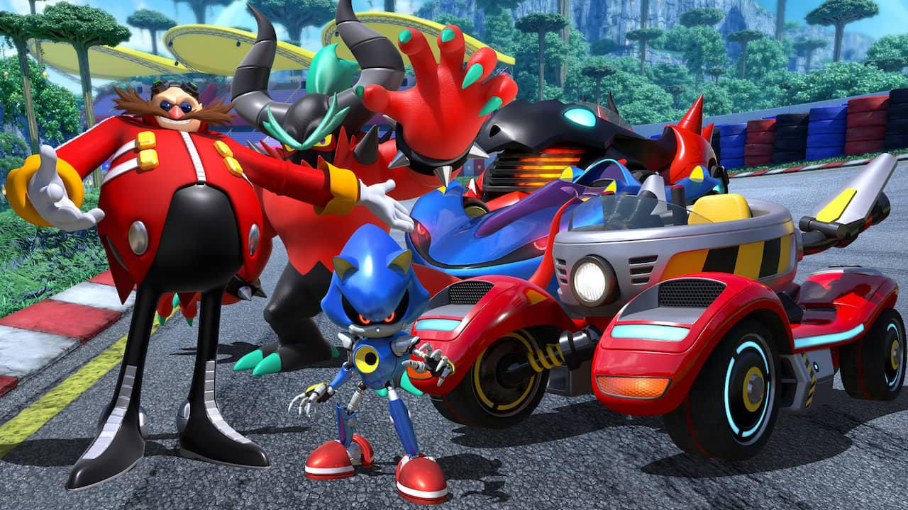 Team Sonic Racing Team Eggman Key Art