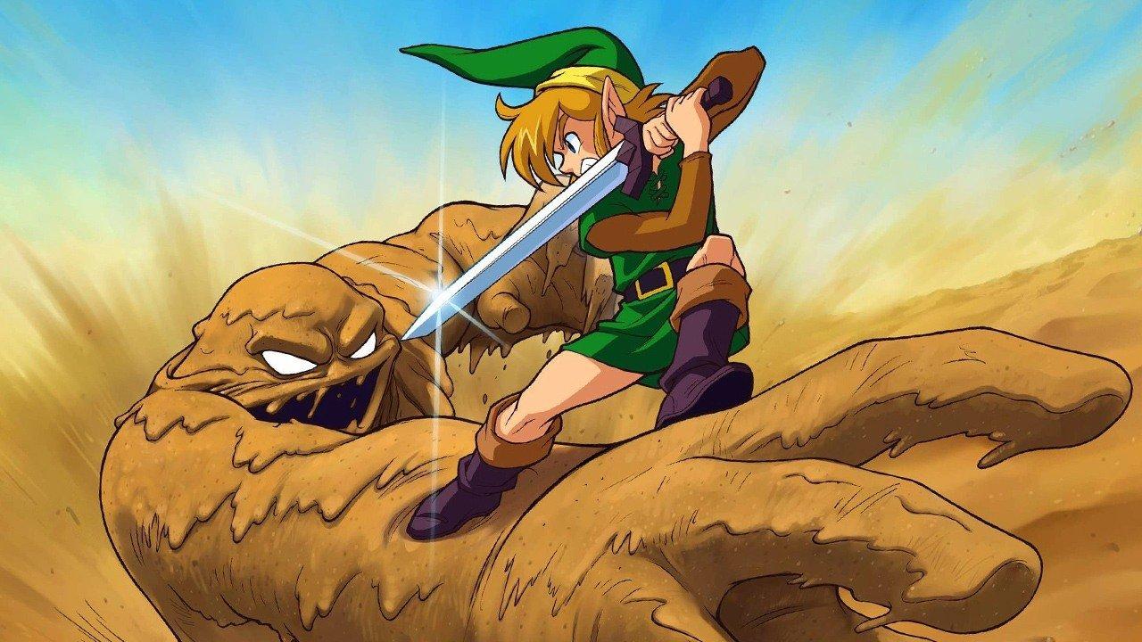 Zelda: Link to the Past Key Art