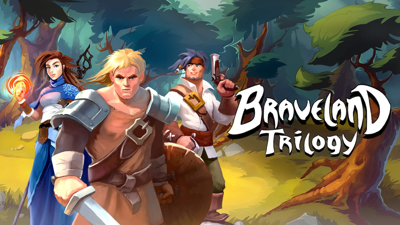 Braveland Trilogy Key Art