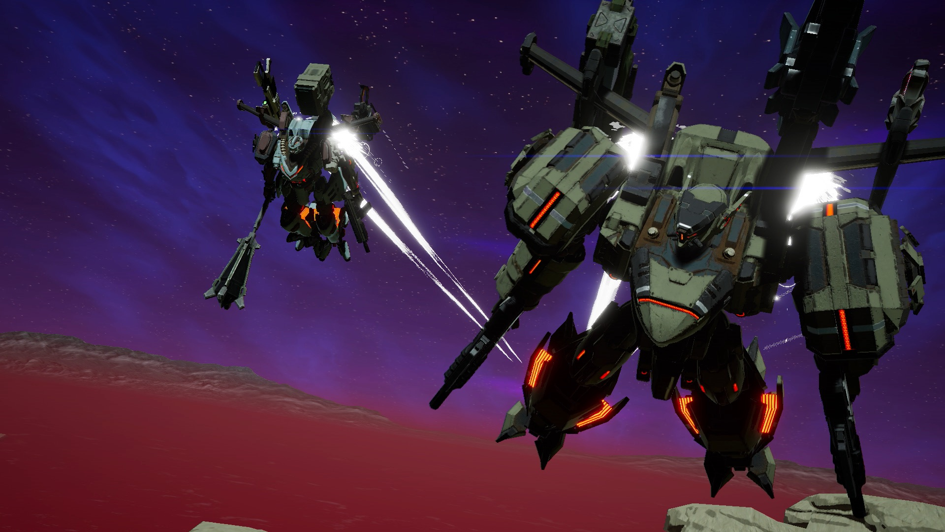 Daemon X Machina Screenshot 1
