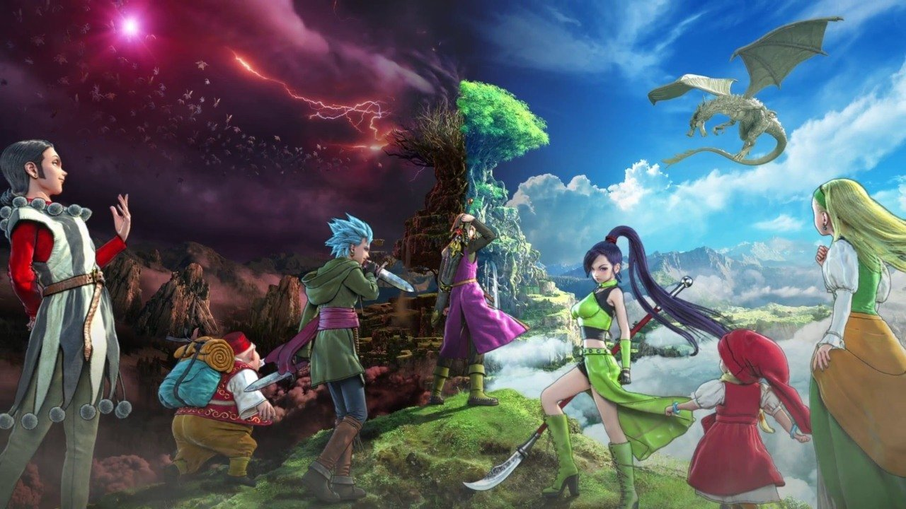 Dragon Quest XI S: Echoes Of An Elusive Age Definitive Edition Key Art