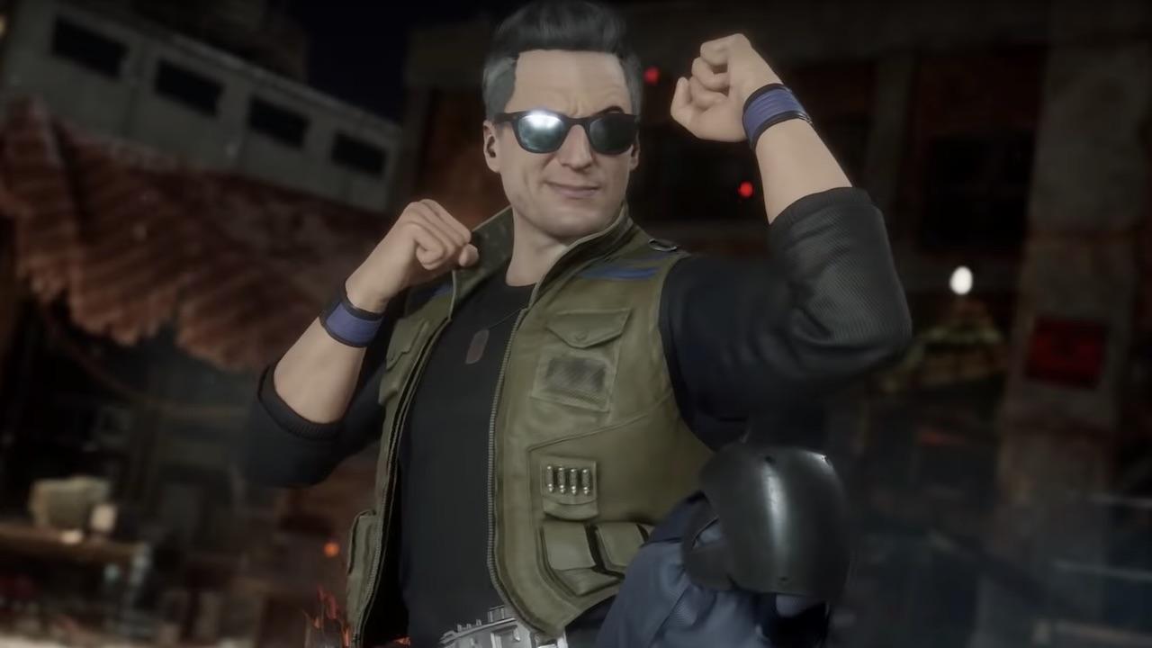Johnny Cage Mortal Kombat 11 Screenshot