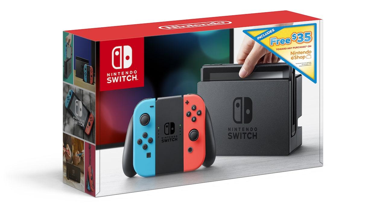 Nintendo Switch Bundle eShop Credit Photo