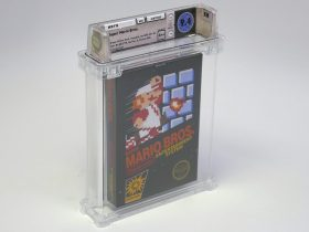 Sealed Super Mario Bros. Copy