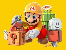 Super Mario Maker Key Art