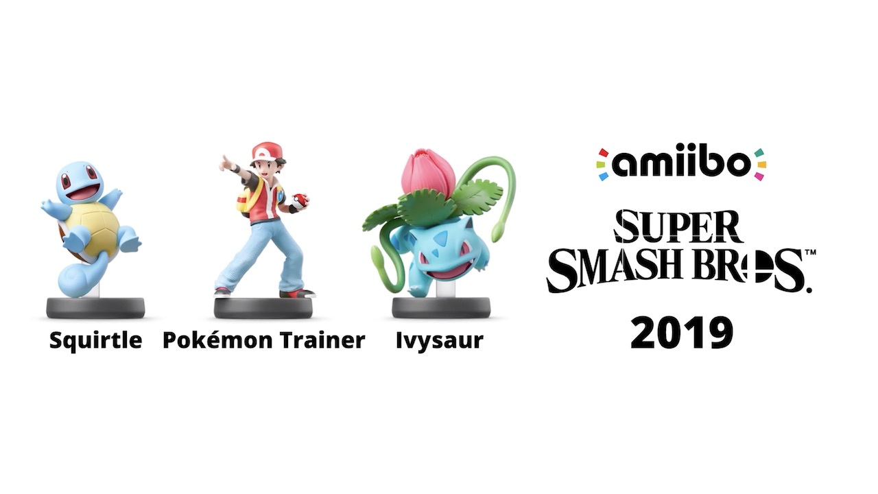 Super Smash Bros. amiibo 2019