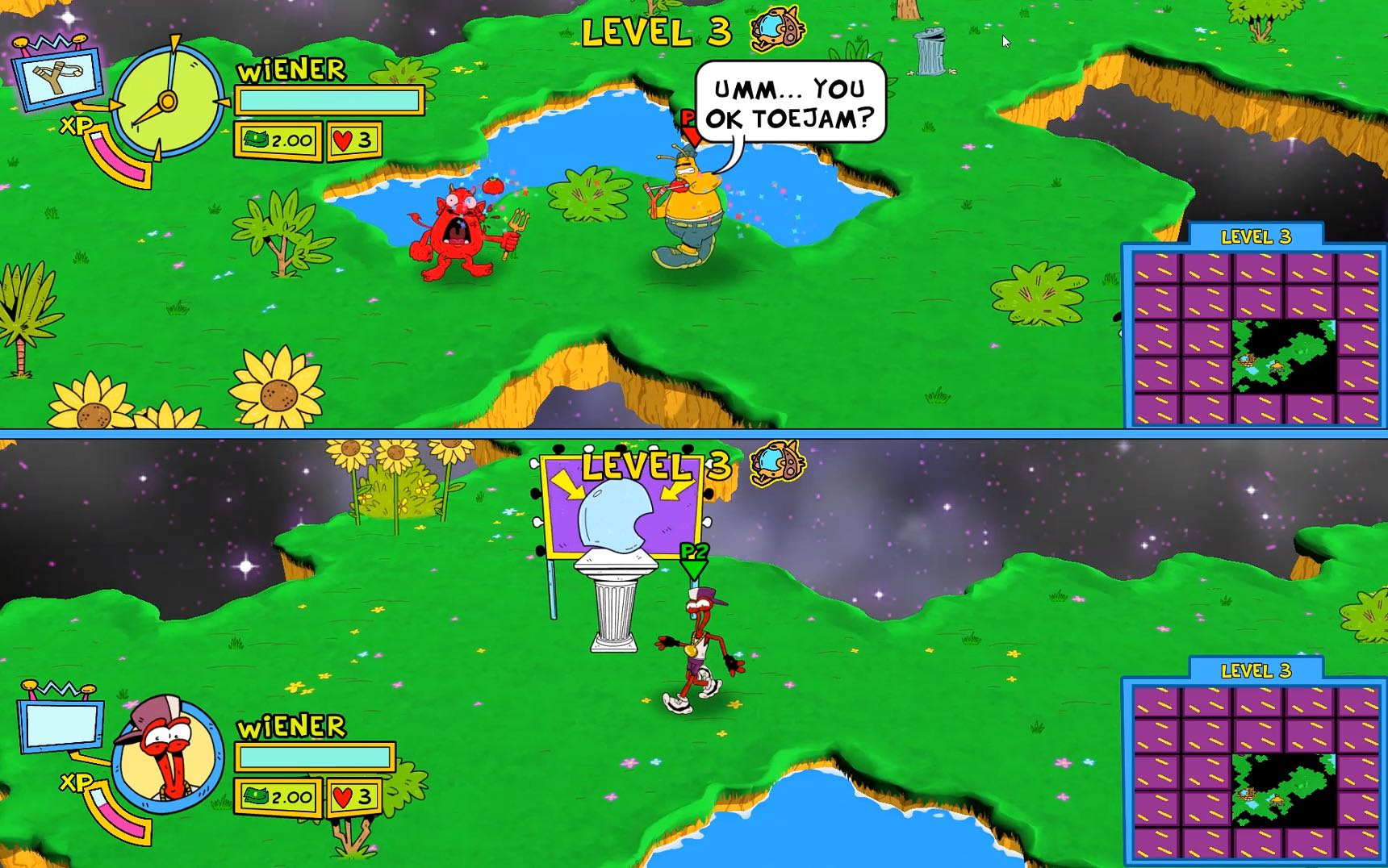 ToeJam And Earl: Back In The Groove! Review Screenshot 2