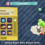 Yoshi's Crafted World Derby Sheep Costume Screenshot
