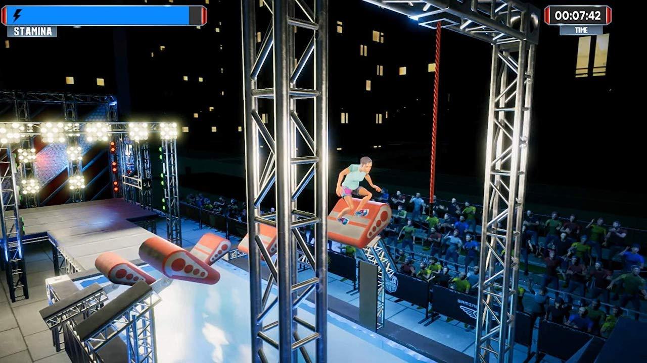 American Ninja Warrior Challenge Screenshot