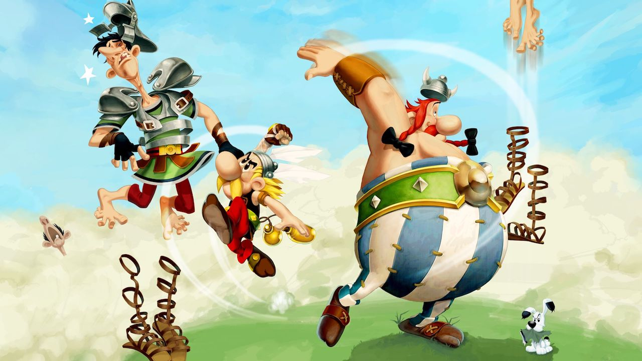 Asterix and Obelix XXL3: The Crystal Menhir Artwork
