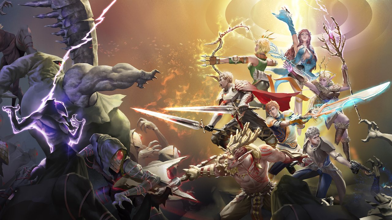 Azure Saga: Pathfinder Key Art