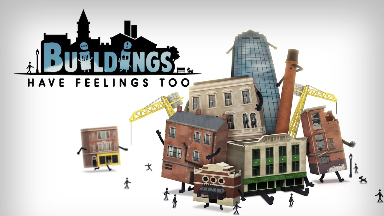Buildings Have Feelings Too! Key Art
