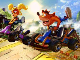 Crash Team Racing Nitro-Fueled Papu's Pyramid Screenshot