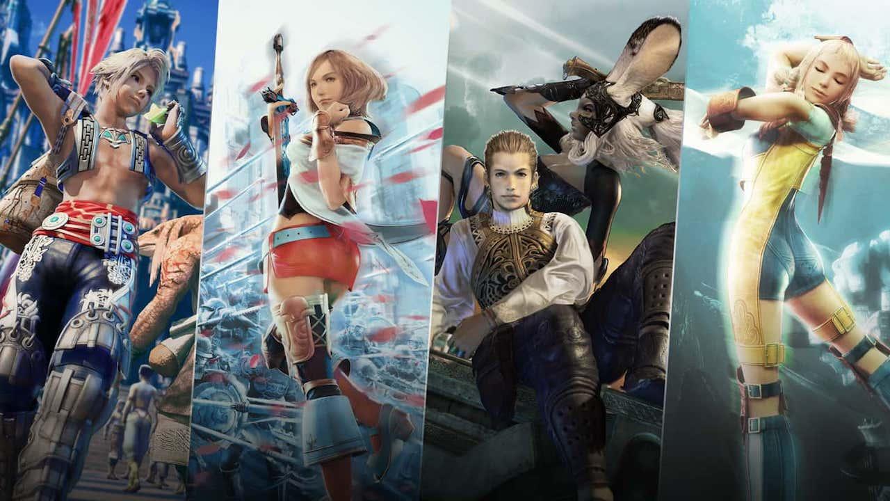 Final Fantasy 12 Characters Art