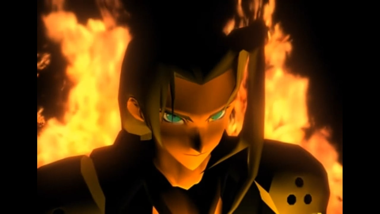 Final Fantasy VII Sephiroth Screenshot
