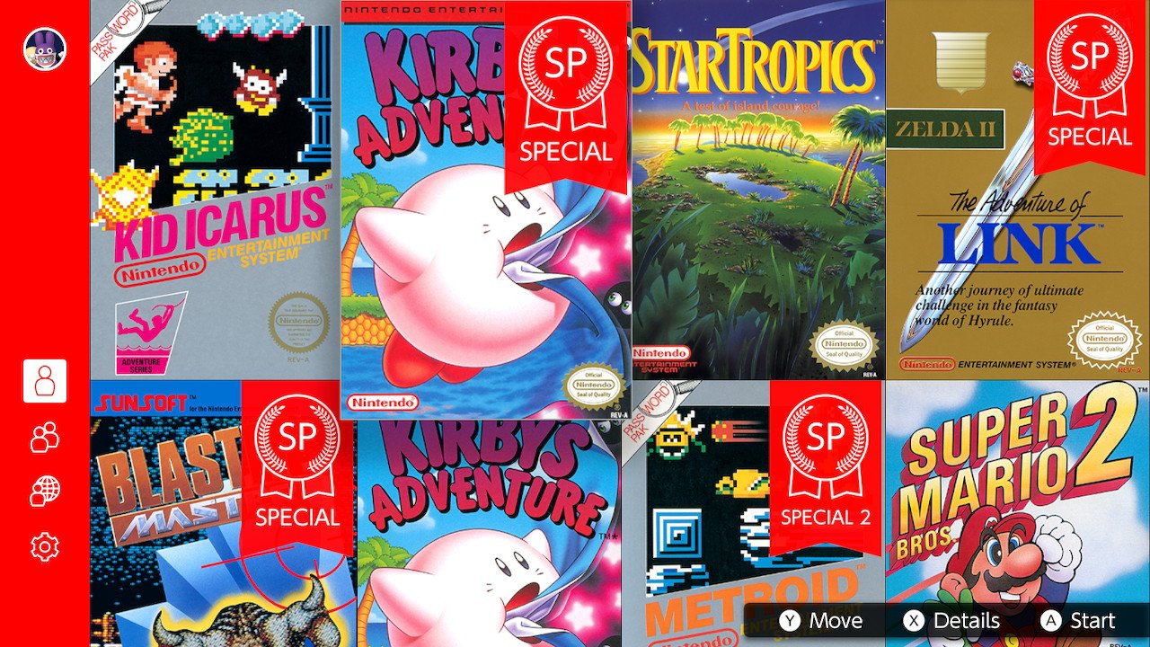 Kirby's Adventure SP Nintendo Switch Online Screenshot