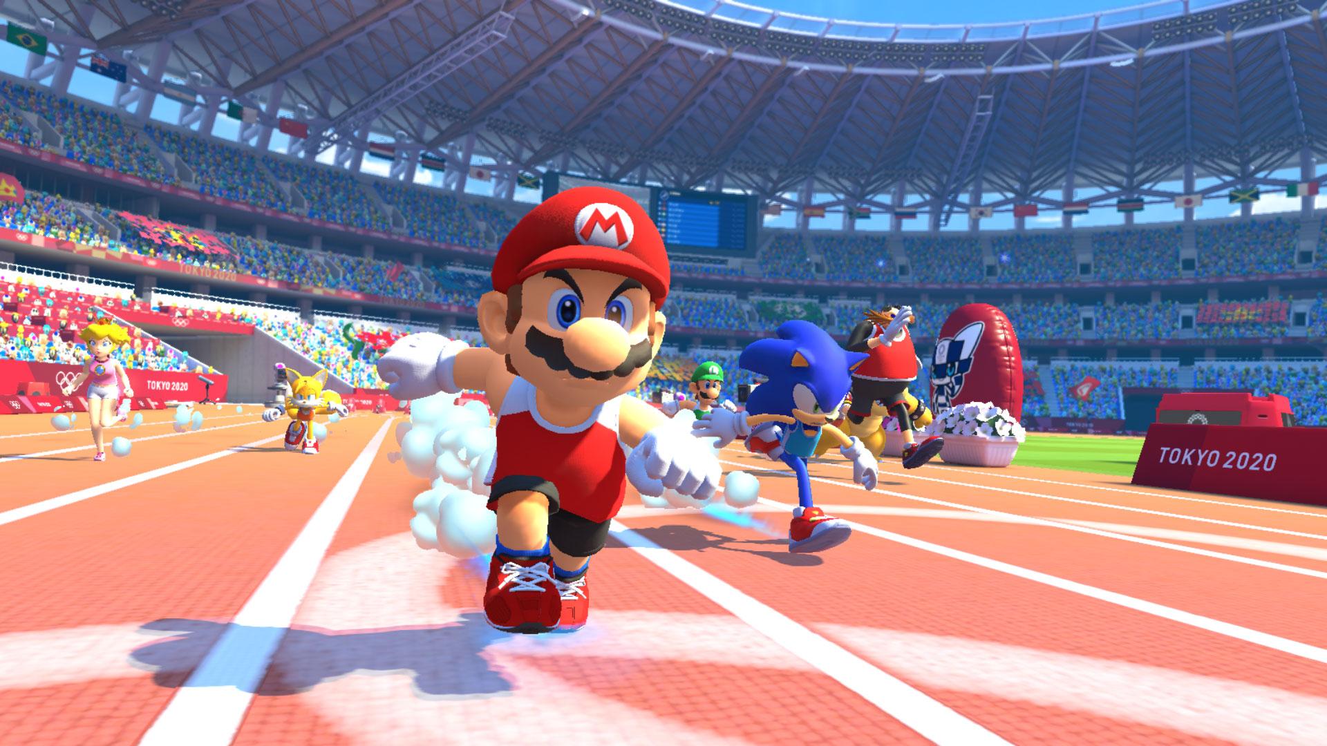 Mario And Sonic At The Tokyo 2020 Olympic Games Screenshot 1