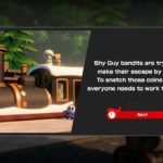 Mario Tennis Aces Shy Guy Train Tussle Screenshot