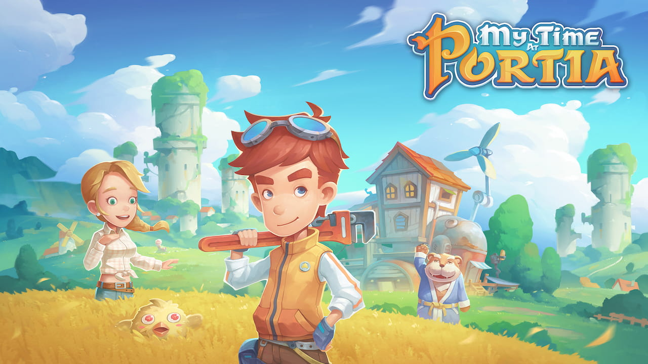 My Time At Portia Key Art