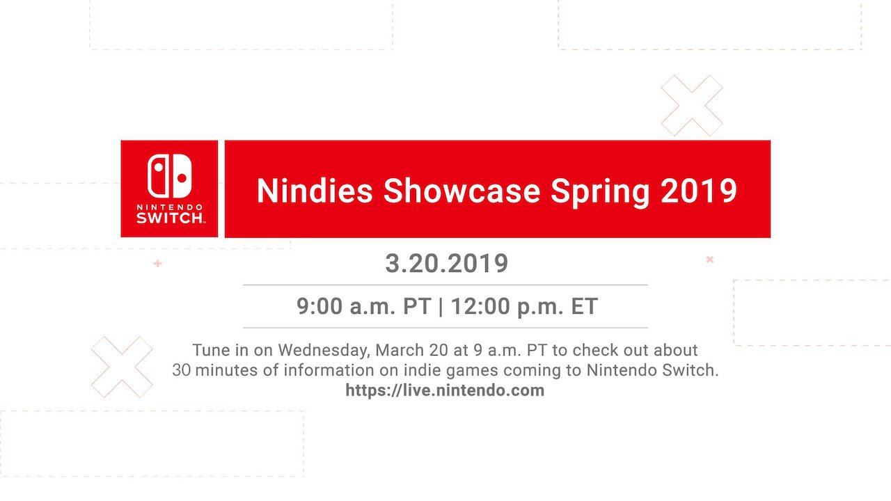 Nindies Showcase Spring 2019 Image