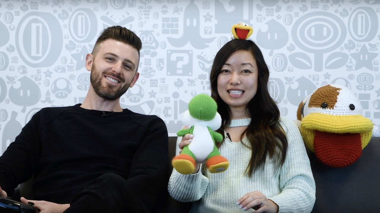 Nintendo Minute Yoshi's Crafted World Photo