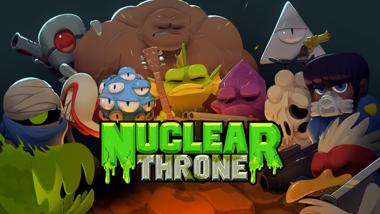 Nuclear Throne Key Art