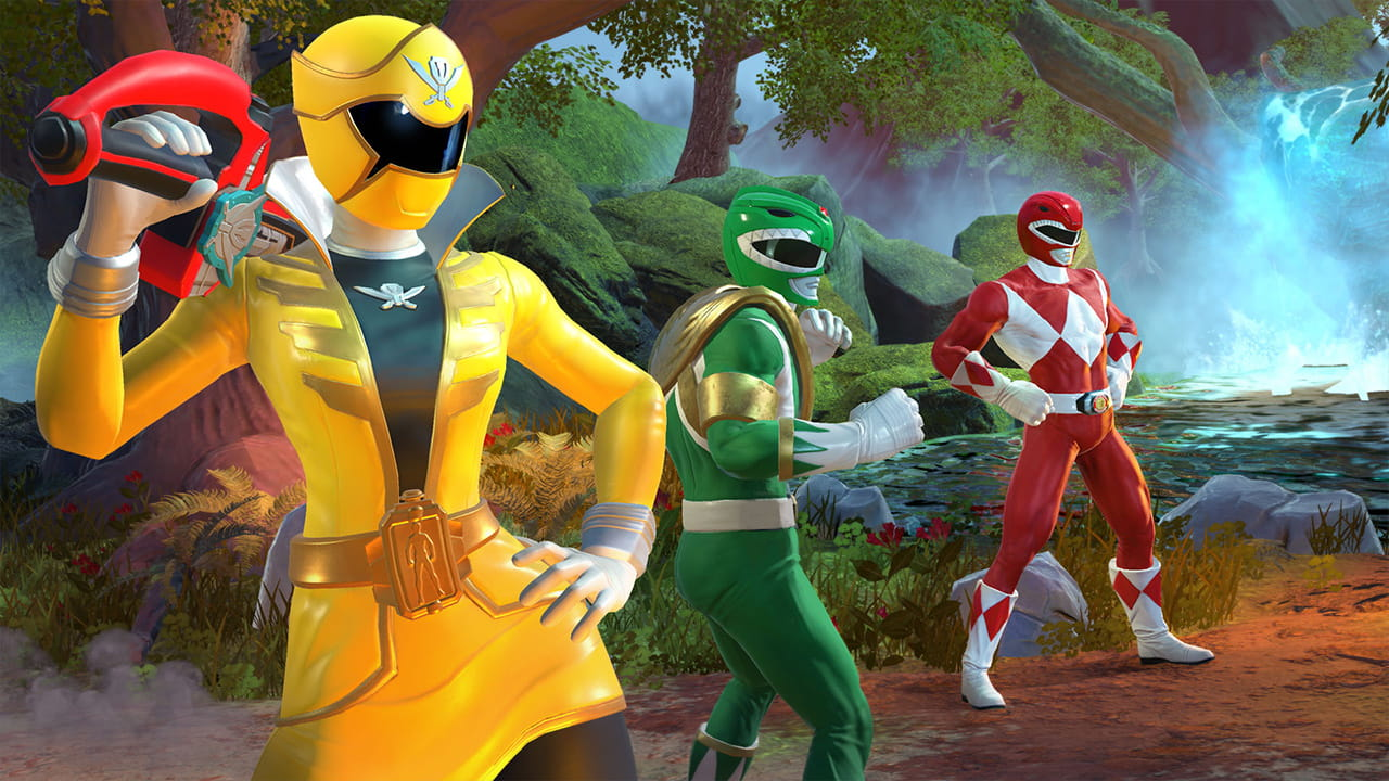 Power Rangers: Battle For The Grid Screenshot