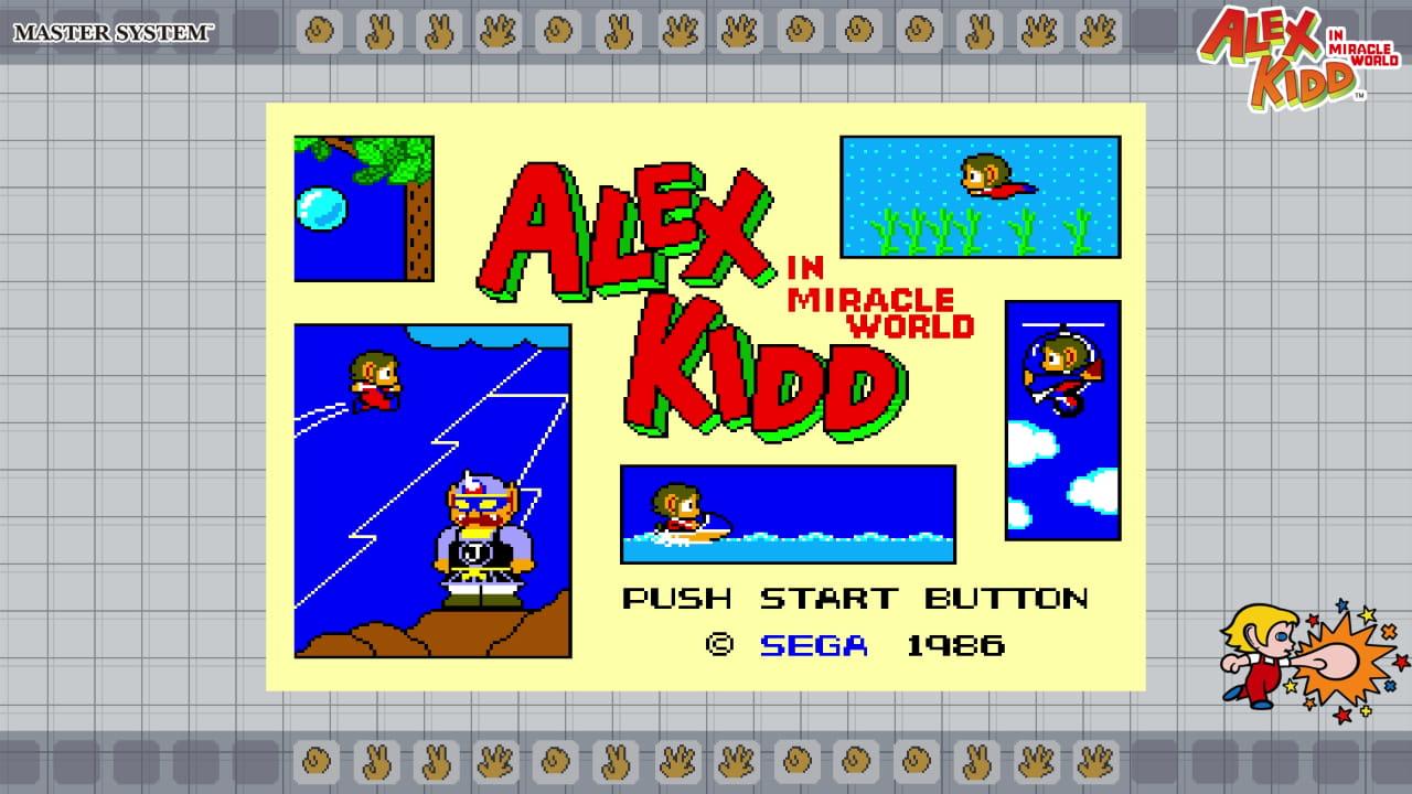 SEGA AGES Alex Kidd in Miracle World Screenshot