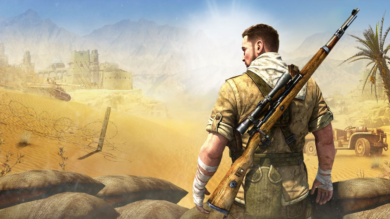 Sniper Elite 3 Ultimate Edition Key Art