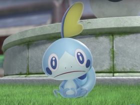 Sobble Pokémon Sword And Shield Screenshot