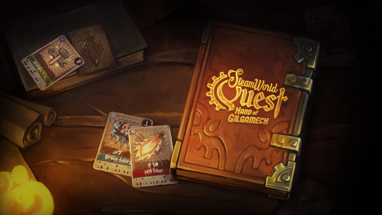 SteamWorld Quest: Hand Of Gilgamech Key Art