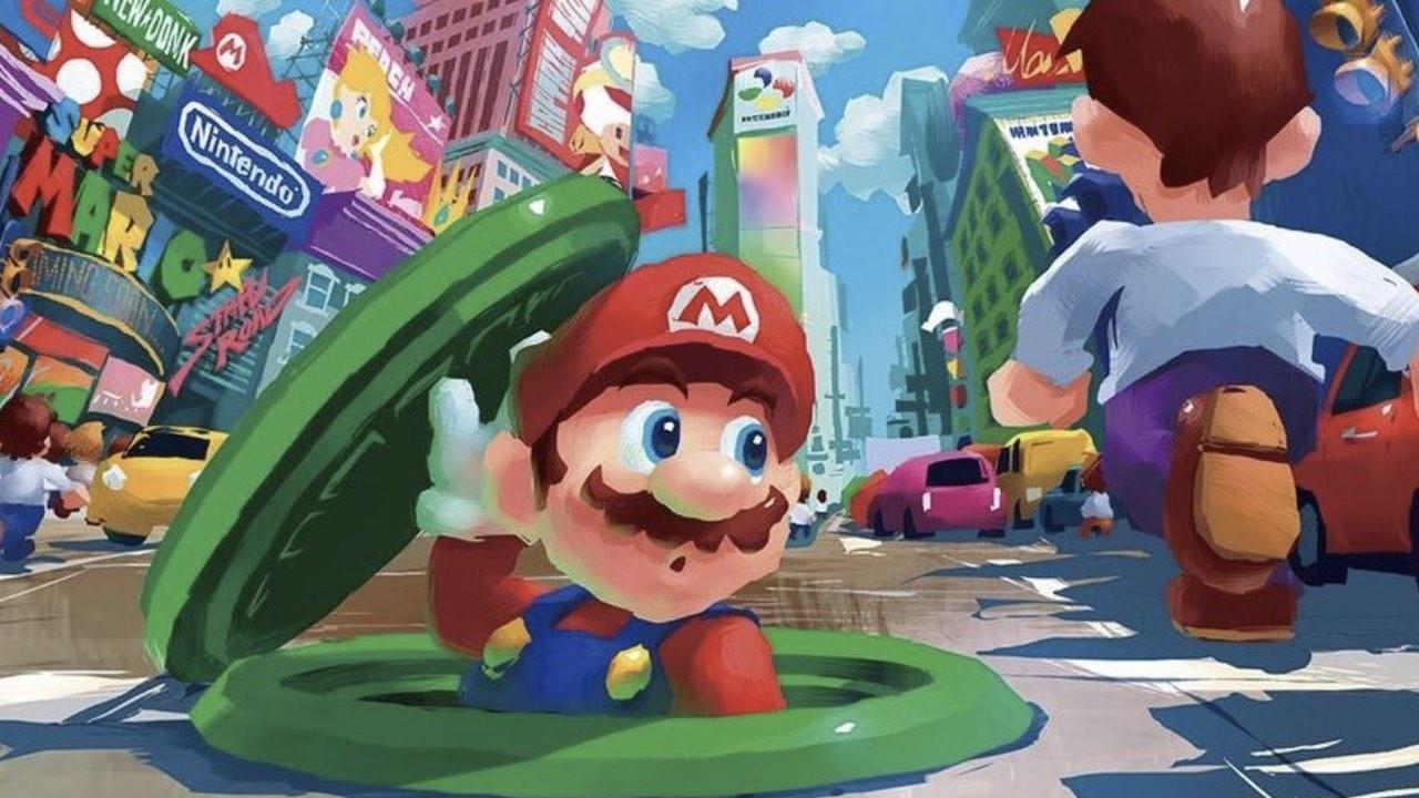 Super Mario Odyssey Art
