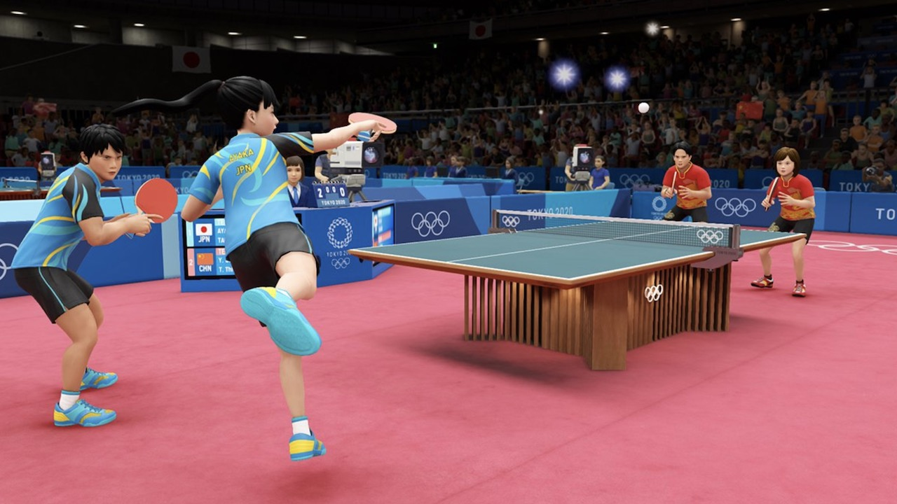 Tokyo 2020 Olympics: The Official Video Game Screenshot