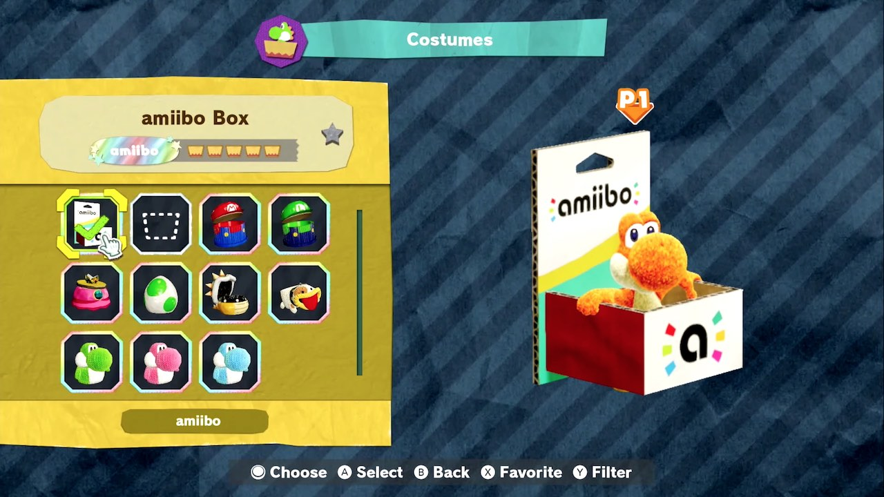 Yoshi's Crafted World amiibo Box Screenshot