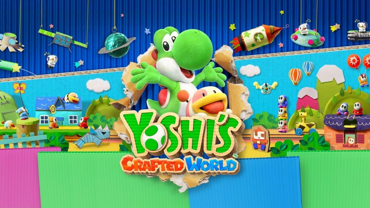 Yoshi's Crafted World Key Art